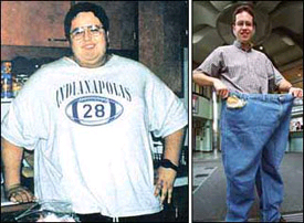Jared, the guy who lost 235 lb by eating Subway