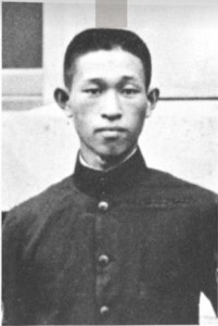 Matsushita in 1918, the year he went into business